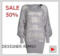 DESIGNER REMIX Strickpulli Oversize Look
