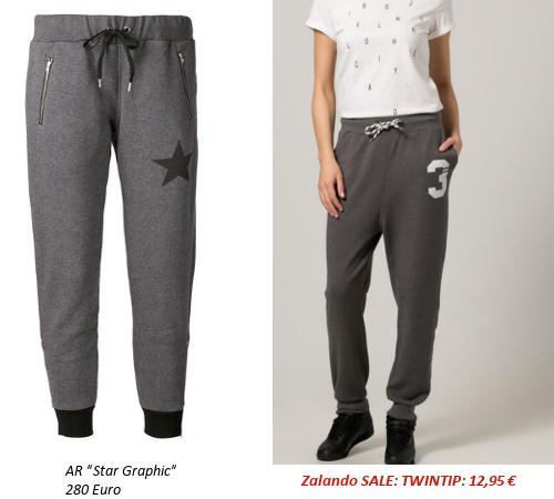 Designer Jogginghosen günstig nachkaufen