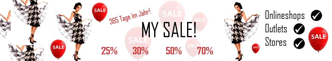 Sale Online Shop und Outlet header image
